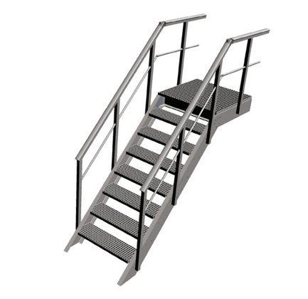 Escalera inclinada